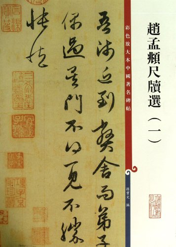 Zhao Mengfu Calligraphy  A Book of Illustrated and Magnified Famous Stone Rubbings (I) (Chinese Edition)