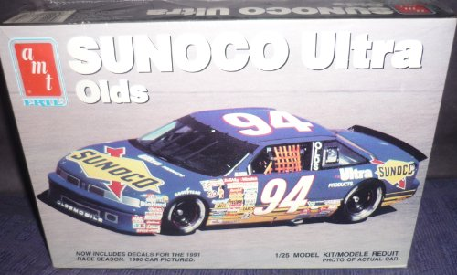 #6738 AMT/Ertl Sunoco Ultra Olds 1/25 Scale Plastic Model Kit