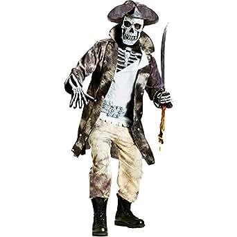 Fun World Mens Ghost Pirate Costume X-large