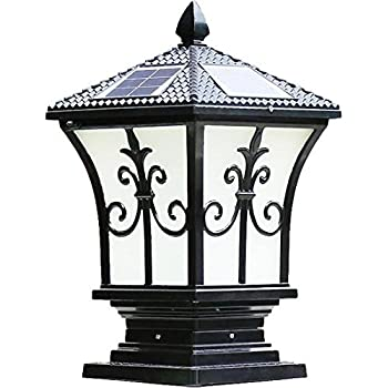 Amazon Com The Tall Extra Large Solar Post Cap Lights Or