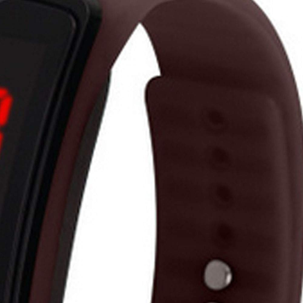 Amazon.com: YaptheS Kids Digital Wristwatch Touch Screen LED Bracelet Band Watch Childrens Watch Sport Watch Bracelet Band Watch Coffee: Cell Phones & ...