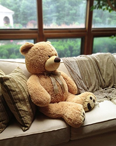 huge teddy bear tan toy in the uae see prices reviews and buy in dubai abu dhabi sharjah. Black Bedroom Furniture Sets. Home Design Ideas