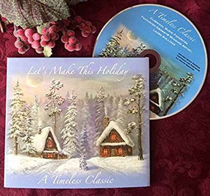 Amazon holiday cards with classical music cd inside each one holiday cards with classical music cd inside each one easy to mail no envelopes m4hsunfo