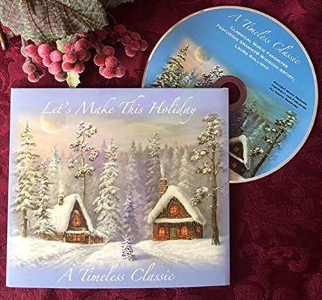 Amazon.com: Tarjetas de Navidad con sobres CD de música ...