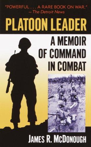 Amazon platoon leader a memoir of command in combat ebook platoon leader a memoir of command in combat by mcdonough james r fandeluxe Gallery