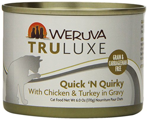 Weruva's TruLuxe Cat Food, Quick 'N Quirky with Chicken & Tu