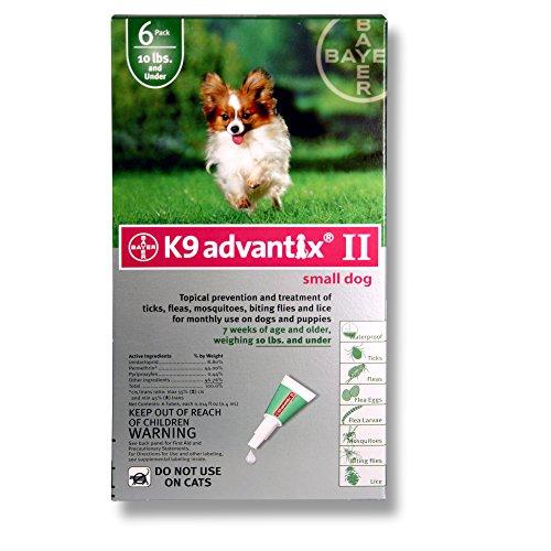 (PSL Advantix II (Grn) Dog (0-10) 6 Month)