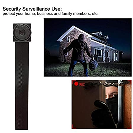 Amazon.com: Hidden Camera 1080P HD Spy Nanny Cam Mini Small Wireless WiFi Security Camera Motion Detection Alarm Home Cameras Remote for iPhone/Android ...