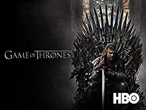 A Game of Thrones HBO series