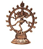 True Facility - Metal Gift Items For Multipurpose Use - Nataraja Statue (6.5 inch X 5.5 inch X 1.5 inch)