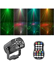 Led Disco Light Stage Lights Voice Control Music Projector Lights 60 Modes RGB Effect Lamp for Party Show with Controller
