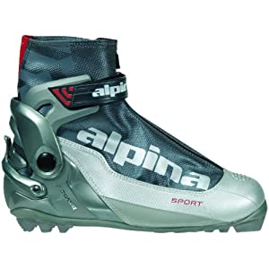 Alpina S Combi Sport Series Cross Country Nordic Ski Boots