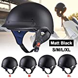 AHR Motorcycle Half Face Helmet DOT Approved