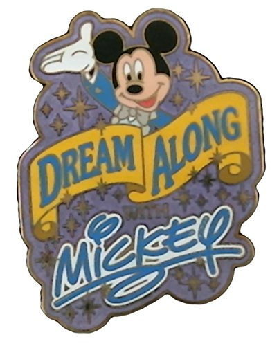 Disney Pin/WDW Dream Along W/Mickey Sparkle (Disney Dream Pin)