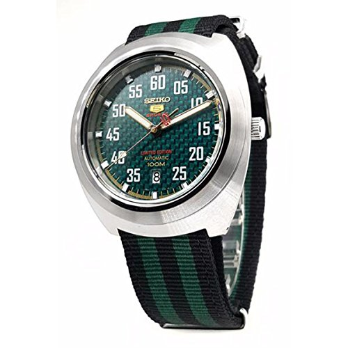 SEIKO 5 Sports 100M Retro Automatic Limited Edition Watch Green ()