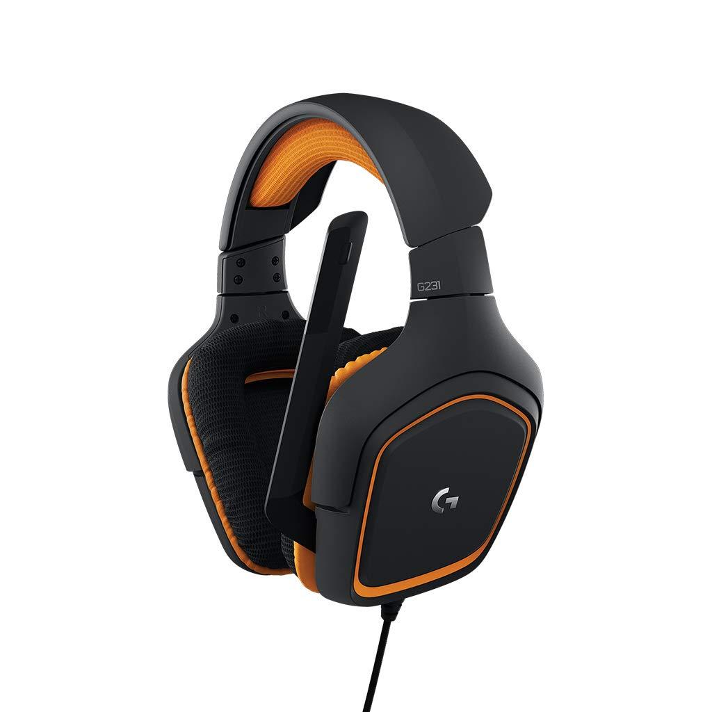 Logitech G231 Prodigy - Auriculares para Gaming estéreo (con micrófono...