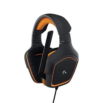d76b6275e1a Logitech G231 Casques Gaming Stéréo Prodigy avec Micro pour PC, Xbox One et  PS4 -