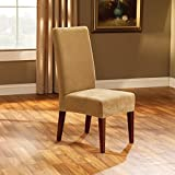 Sure Fit Stretch Pique - Shorty Dining Room Chair Slipcover - Antique (SF36852)