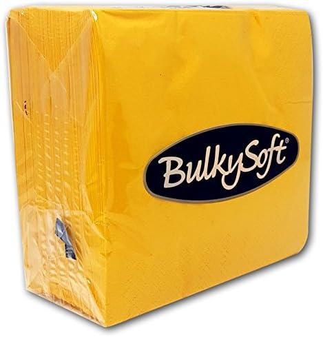 Suave servilletas 33/x 33/cm 2ply servilletas de papel BulkySoft s/ólido colores elegir colores