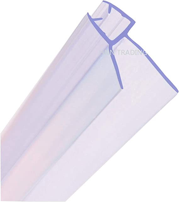 Junta para mampara de ducha HNNHOME de 4 a 6 mm, para vidrio recto ...