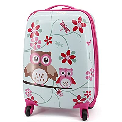 ba778c0eb00d Lttxin kids' suitcase 16 inch Polycarbonate Carry On Luggage, Lovely ...