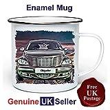 Chrysler PT Cruiser 11 oz Enamel Camping Mug