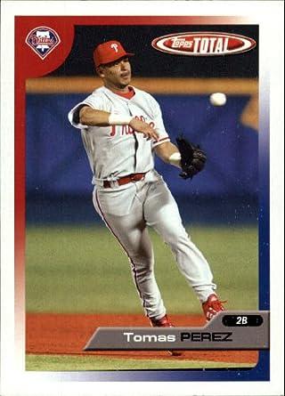 Amazoncom 2005 Topps Total Baseball Card 81 Tomas Perez