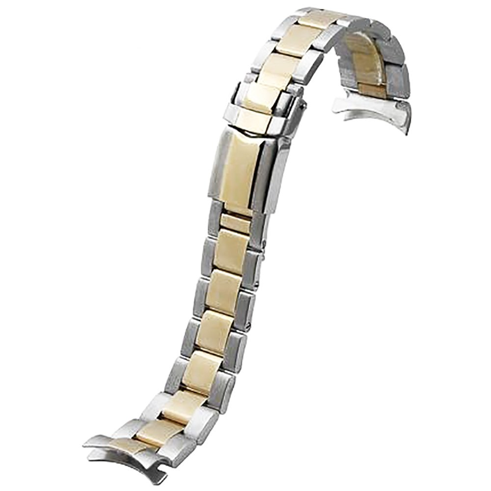 Span Realm Solid Stainless Steel Strap Arc-Shaped end R-O-L-E-X Replacement 20mm 20) Kuke Dianzi Shangwu Ltd Co