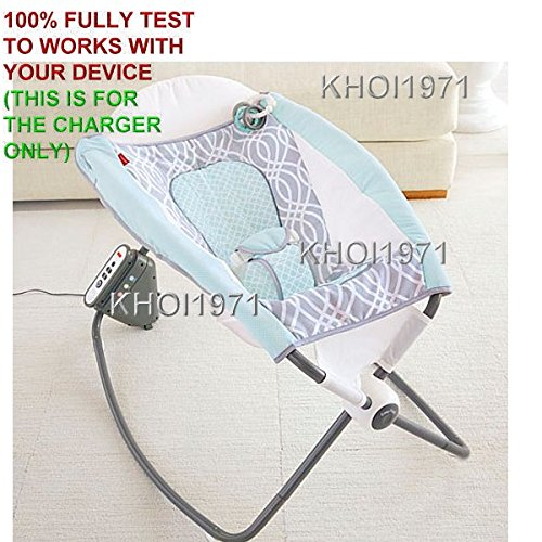 KHOI1971 Wall AC Power Adapter Fisher Price Newborn AUTO Rock N Play Sleeper Baby Cradle Swing Rocker