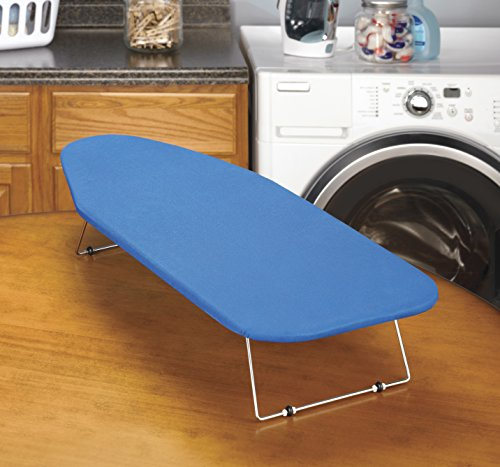 whitmor tabletop ironing board with scorch resistant cover. Black Bedroom Furniture Sets. Home Design Ideas