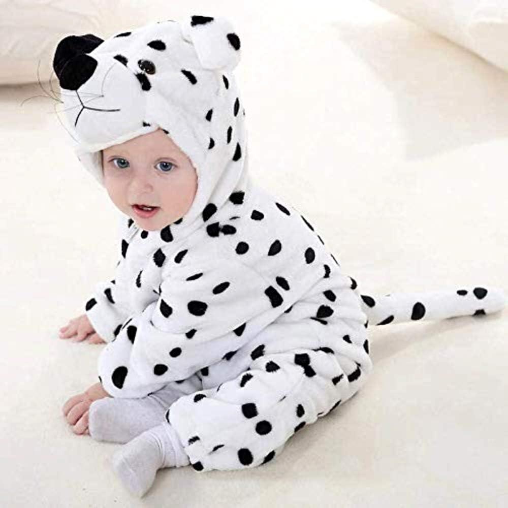 Disfraz de perro dálmata - felpa suave - forro polar - mono - mono ...