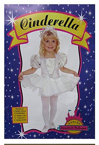 Sinderella Ballerina Girl Costume M 8-10 (Child Cinderella Ballerina Costume)