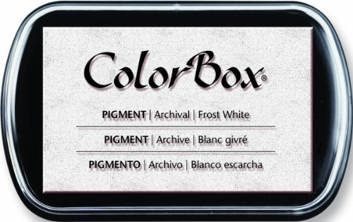 (ColorBox Pigment Ink Pad, Frost White by ColorBox )