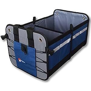 Premium car trunk organizer best heavy duty for Home construction organizer