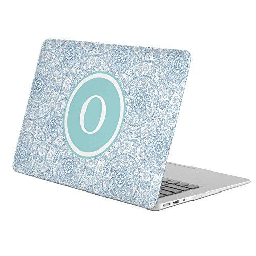 ([ O - INITIAL ] [ Name Monogram Full Body Hard Case ][ Apple Old Macbook Pro 13