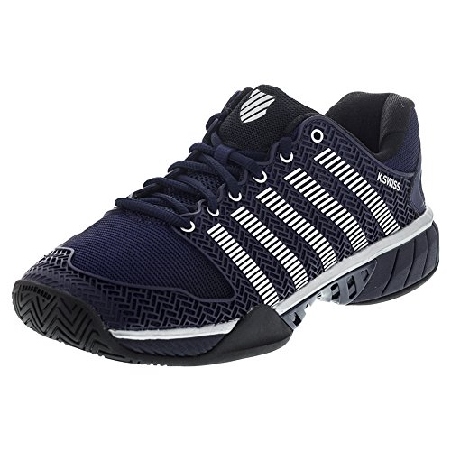 K-Swiss Men's Hypercourt Express Tennis Shoe (Navy/Silver ...