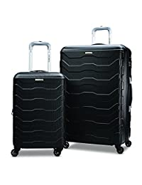 Samsonite Tread Lite Lightweight Two-piece Hardside (20 inch/28 inch) Luggage Set, Black