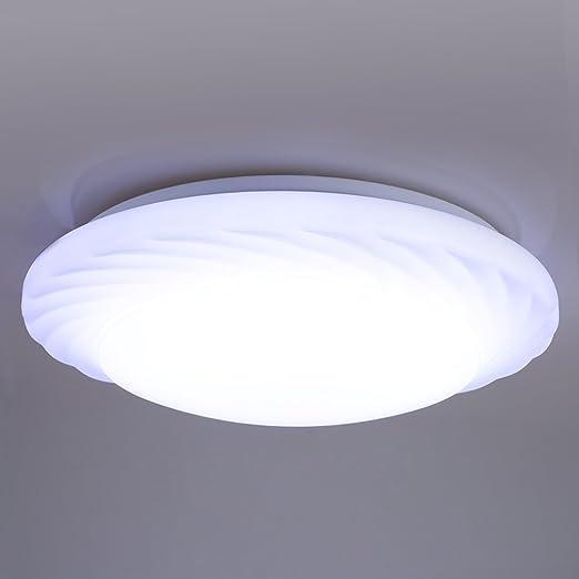 Lampwin 24w round led flush ceiling light7000k bright light2000 lampwin 24w round led flush ceiling light7000k bright light2000 lumens round flush aloadofball Choice Image