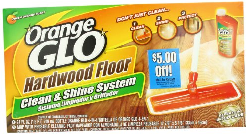 Amazon.com: Orange Glo Hardwood Floor Clean and Shine System: Health &  Personal Care - Amazon.com: Orange Glo Hardwood Floor Clean And Shine System