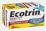 Ecotrin Regular Strength Safety Coated Aspirin
