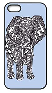 Elephant Art Back Cover for iPhone 5,iPhone 5s cases