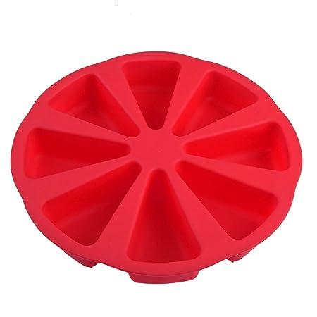 8 Cacerola Scone Sartenes Molde de pastel de silicona 3D ...