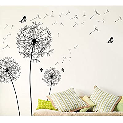 BEST OF BEST Butterfly Flower DIY Wall Decal Stickers Elephant Animals PVC Murals Wallpaper Environmentally Removable Wall Art Bedroom Living Room Kids Baby Bathroom Home Decor