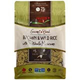 Floating Leaf Wild Rice Products-Brown and Wild Rice with Portobello Mushrooms, 400G