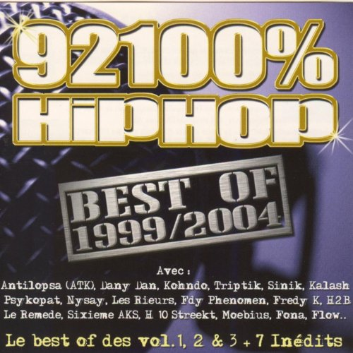 92100 Hiphop Best of 1999-2004 [Explicit]