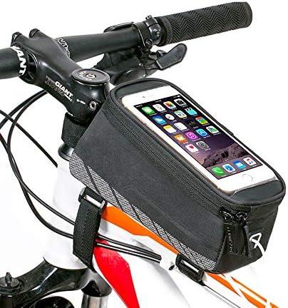 自転車バッグ 自転車トップチューブバッグ フレームバッグ 7.0