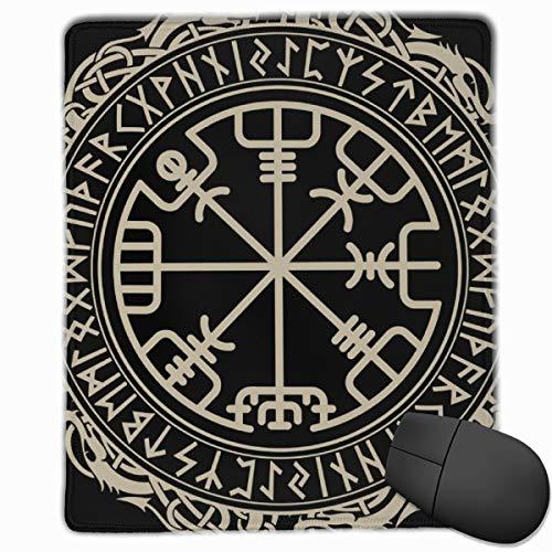 Viking Celtic Black Magic Runic Compass Vegvisir en runas nórdicas ...