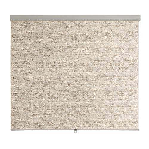 Brielle Distressed Jacquard Cordless Roller Shade, 23 x 66, Beige