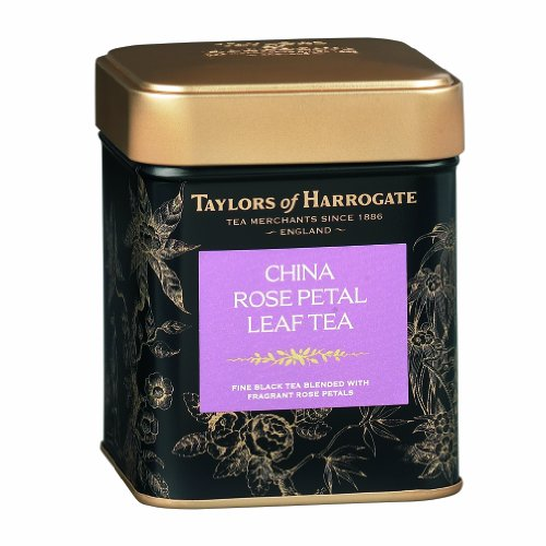 Taylors of Harrogate China Rose Petal Loose Leaf, 4.41 Ounce (Perfumed Water)