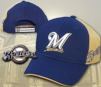 Milwaukee Brewers SIDEARM Velcro Adjustable Hat Cap - Team Colors